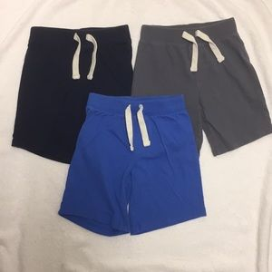 EUC Blue Navy Gray Old Navy Shorts 4T